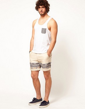 Image 4 ofASOS Vest With Oxford Pocket