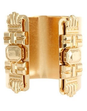 Image 4 ofASOS REVIVE Superhero Double Cuffs