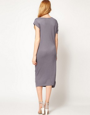 Image 2 ofImprovd Cowl Neck Skylar Jersey Dress