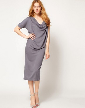 Image 1 ofImprovd Cowl Neck Skylar Jersey Dress
