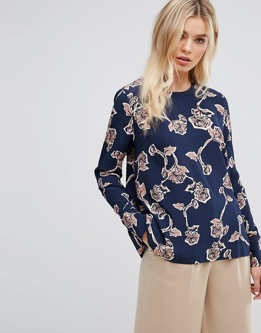 Y.A.S Floral Printed Top - Multi