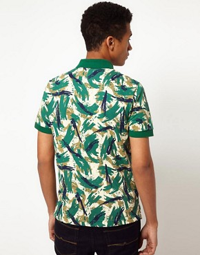 Image 2 ofLacoste Live! Slim Fit Printed Polo
