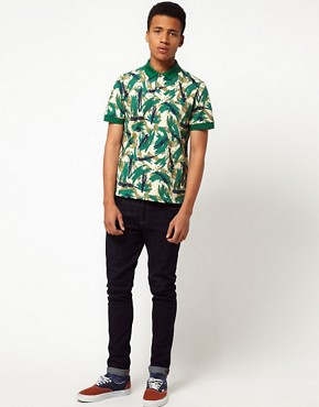 Image 4 ofLacoste Live! Slim Fit Printed Polo