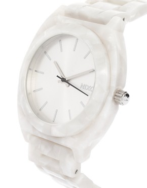 Image 4 ofNixon White Acetate Watch