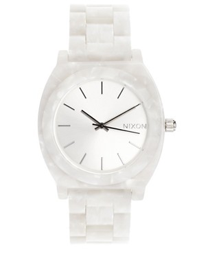 Image 1 ofNixon White Acetate Watch