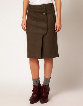 Image 4 ofYMC High Waisted Skirt