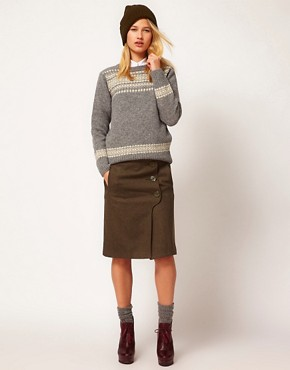 Image 1 ofYMC High Waisted Skirt