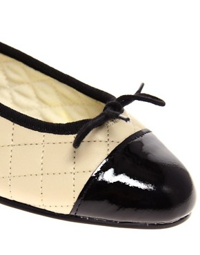 Image 2 ofFrench Sole Simple Classic Quilted Ballet Flats