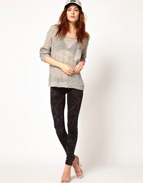 Image 4 ofLnA Long Sleeve Knit With Contrast Pocket