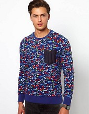 Revolution Sweatshirt With Floral Print