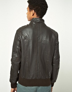 Image 2 ofSelected Pete Leather Jacket