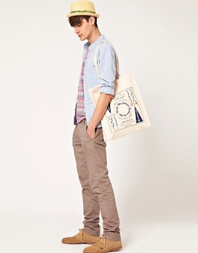Image 3 ofASOS Shopper with Rodeo Print