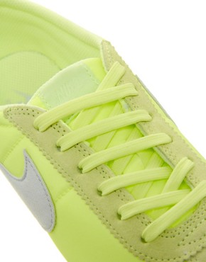 Image 3 ofNike Cortez Lime Trainers