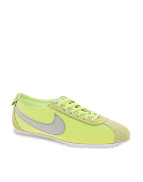 Image 1 ofNike Cortez Lime Trainers