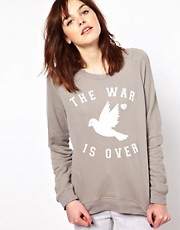 Sudadera War Is Over de Zoe Karssen