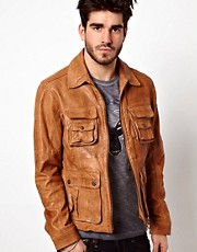 Pepe Heritage Leather Jacket Coleman