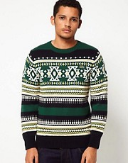Lacoste Live Patterned Jumper