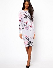 ASOS Floral Watercolour Bodycon