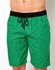 Pa:Nuu Green Leaf Boardshort