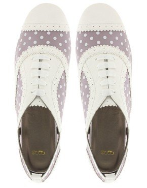 Image 3 ofASOS MESSAGE Perspex Brogues