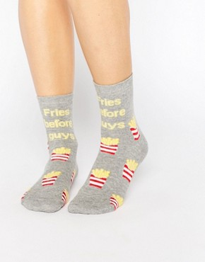 ASOS Fries Before Guys Ankle Socks