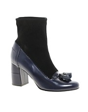 Robert Clergerie Karco Tassle Heeled Ankle Boots