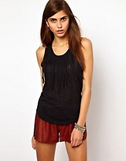 Very By Vero Moda Fringe Vest