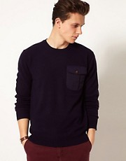French Connection Wool Crew Sweater