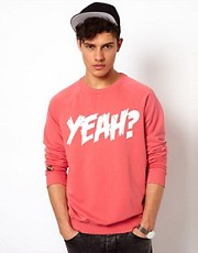 Beck & Hersey Sweat with Yeah Print