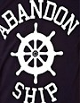 Image 3 ofAbandon Ship T-Shirt with Logo Print