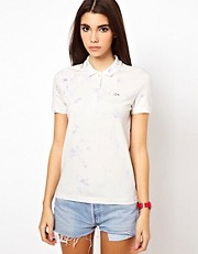 Lacoste L!Ve Tie Dye Polo Shirt