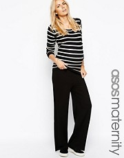 ASOS Maternity Exclusive Lounge Pants With Fold Over