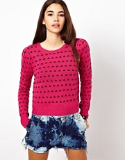 Lucca Couture Dotty Jumper