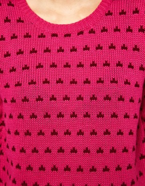 Image 3 ofLucca Couture Dotty Jumper