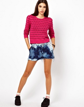 Image 4 ofLucca Couture Dotty Jumper