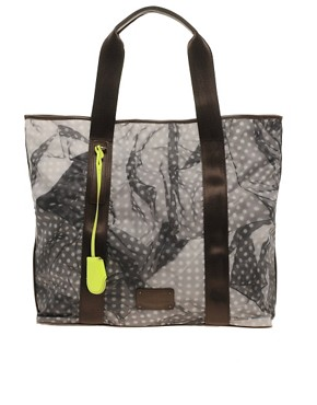 Image 1 ofPaul Smith Polka Dot Printed Shopper Bag