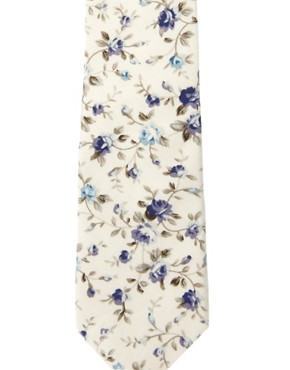 Image 3 ofASOS Floral Tie