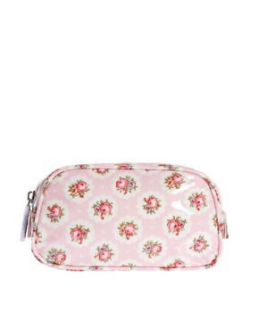 Image 1 ofCath Kidston Cosmetic Bag With Compact Mirror