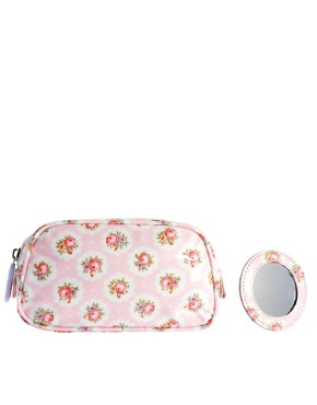 Image 4 ofCath Kidston Cosmetic Bag With Compact Mirror