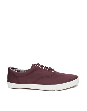 Image 4 ofJack &amp; Jones Kos Lo Canvas Plimsolls