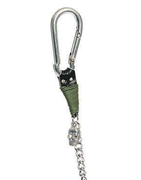 Image 4 ofASOS Skull Chain Lanyard