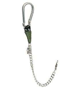 Image 1 ofASOS Skull Chain Lanyard