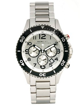 Image 1 ofMarc by Marc Jacobs MBM5025 Men&#39;s Round Chronograph Bracelet Watch