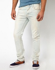 Insight Buzzcock Bleach Wash Slim Fit Jean