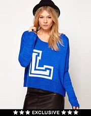 Love Letterman Jumper