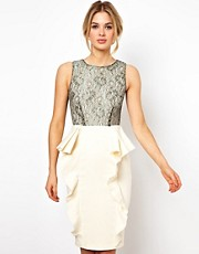 Tempest Selena Dress with Lace Bodice