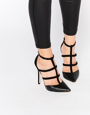 Lipsy Cora Caged Heeled Shoes