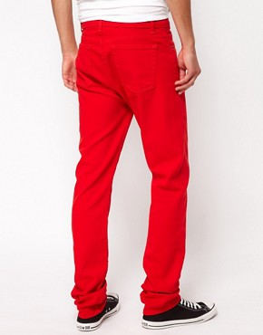 Image 2 ofAmerican Apparel Slim Slack Jeans