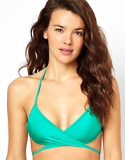 American Apparel Tricot Criss-Cross Bikini Top