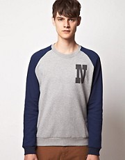 Suit Raglan Sweat Shirt